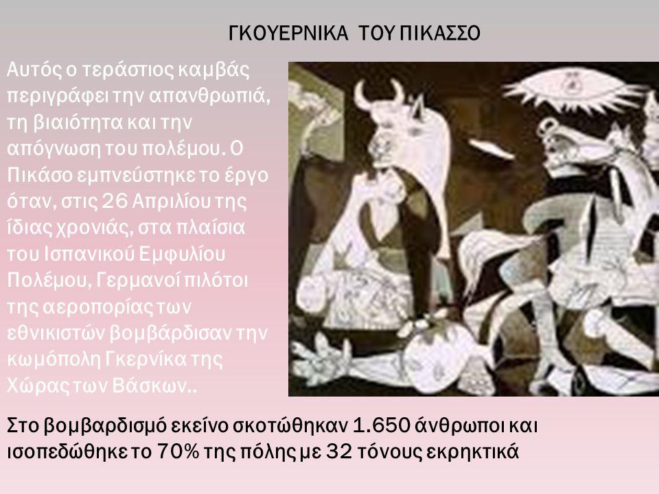 ΓΚΟΥΕΡΝΙΚΑ ΤΟΥ ΠΙΚΑΣΣΟ
