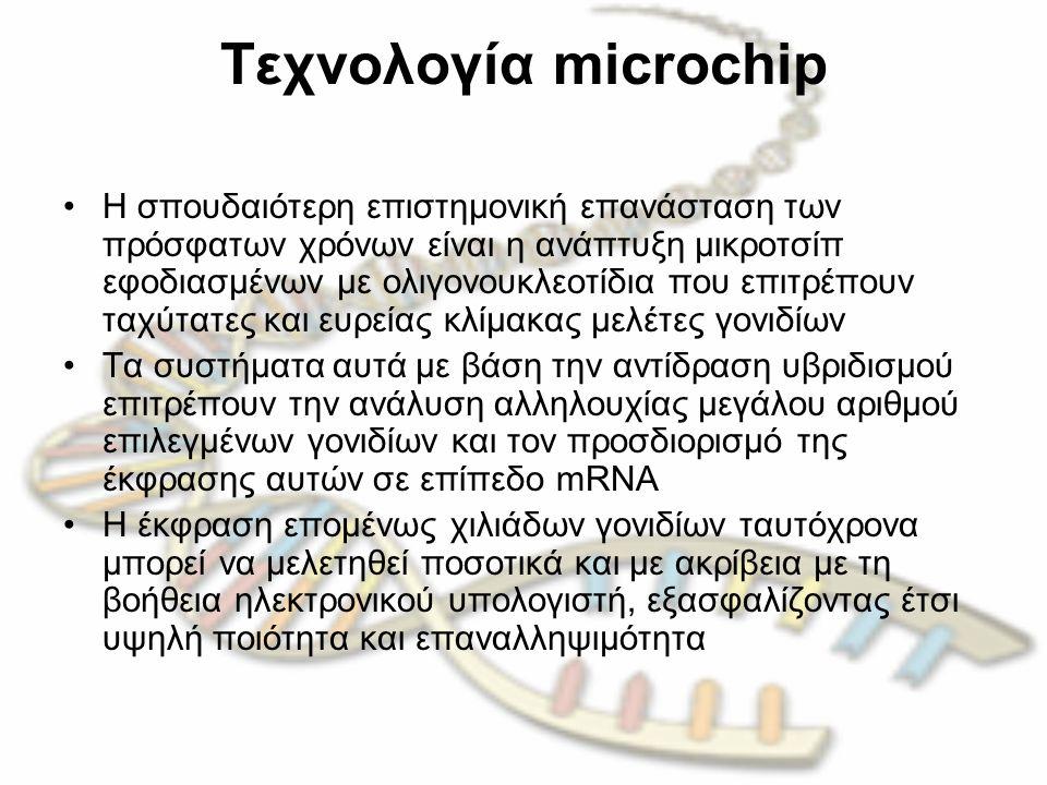 Tεχνολογία microchip