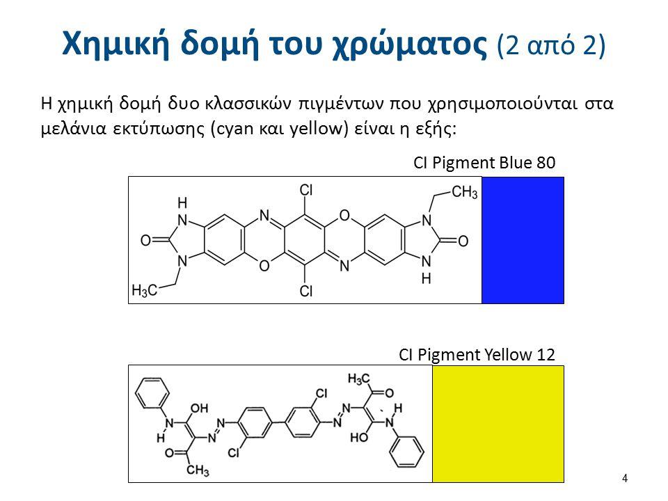 Φυσικές ιδιότητες του χρώματος (1 από 3)