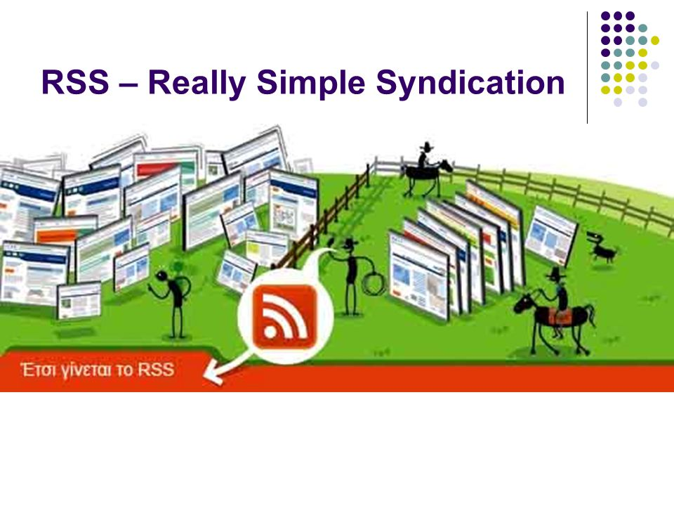 RSS – Really Simple Syndication