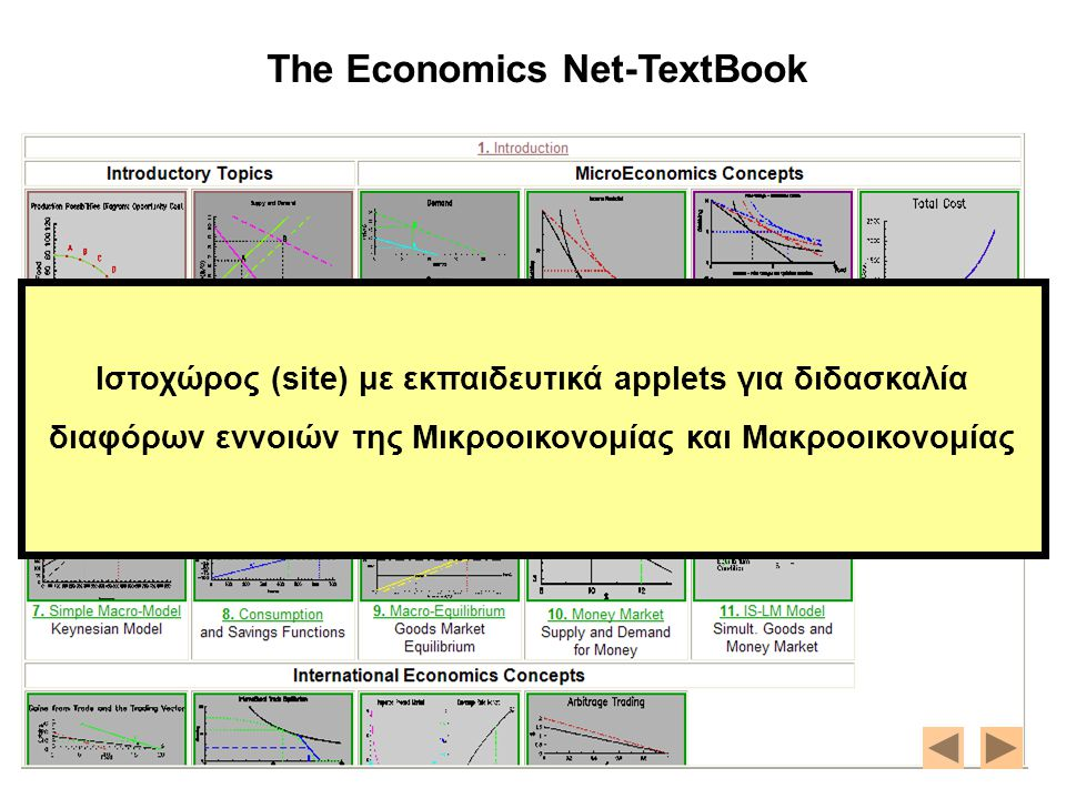 The Economics Net-TextBook