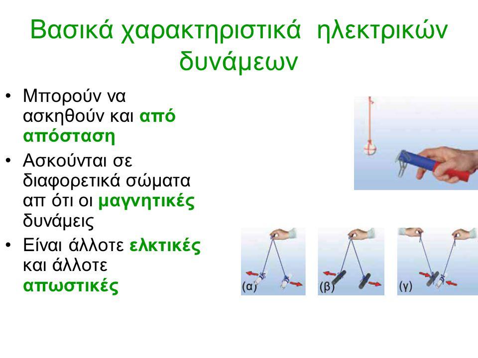 Βασικά χαρακτηριστικά ηλεκτρικών δυνάμεων