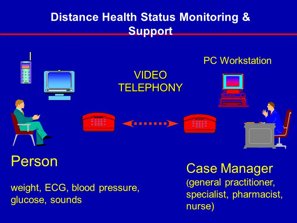 Distance Health Status Monitoring & Support