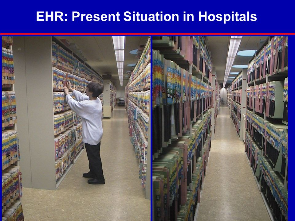 EHR: Present Situation in Hospitals