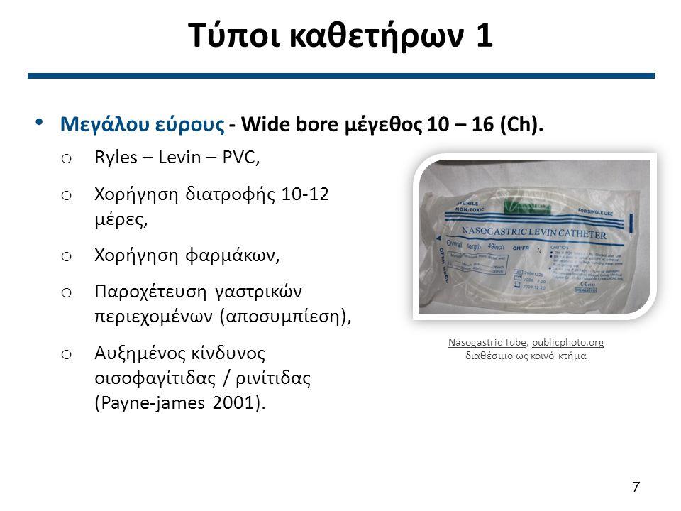 Viasys corflo ng tube Fr8 , από Nanoxyde διαθέσιμο ως κοινό κτήμα