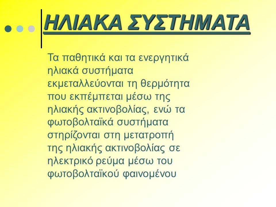 ΗΛΙΑΚΑ ΣΥΣΤΗΜΑΤΑ