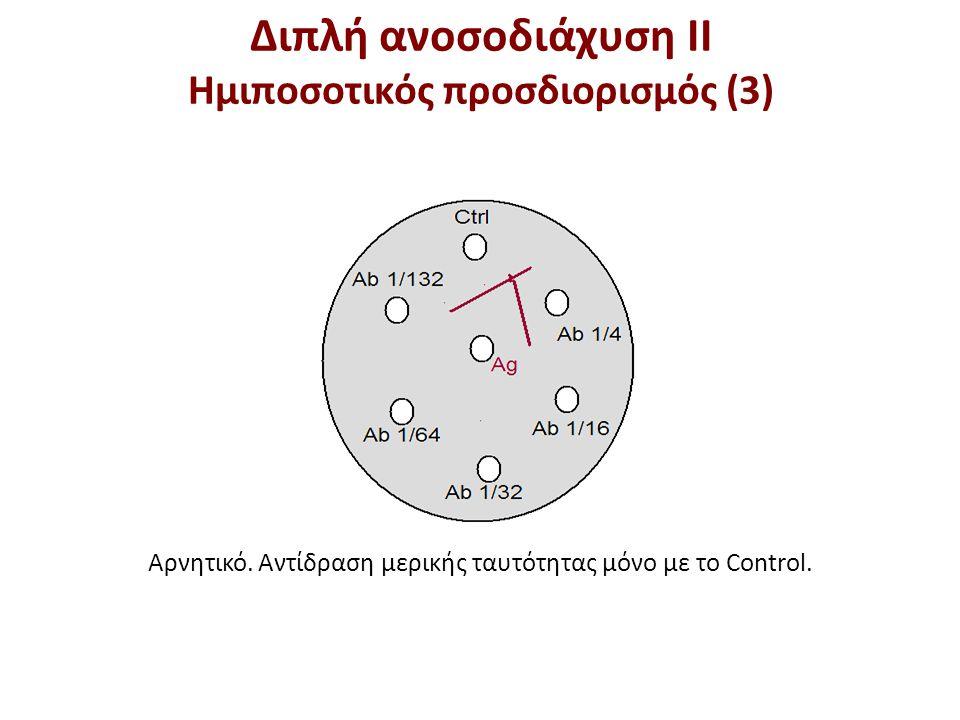 Διπλή ανοσοδιάχυση ΙΙ Ημιποσοτικός προσδιορισμός (4)