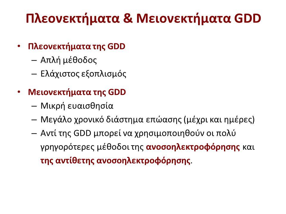 Τεχνικές παρατηρήσεις για RID και GDD