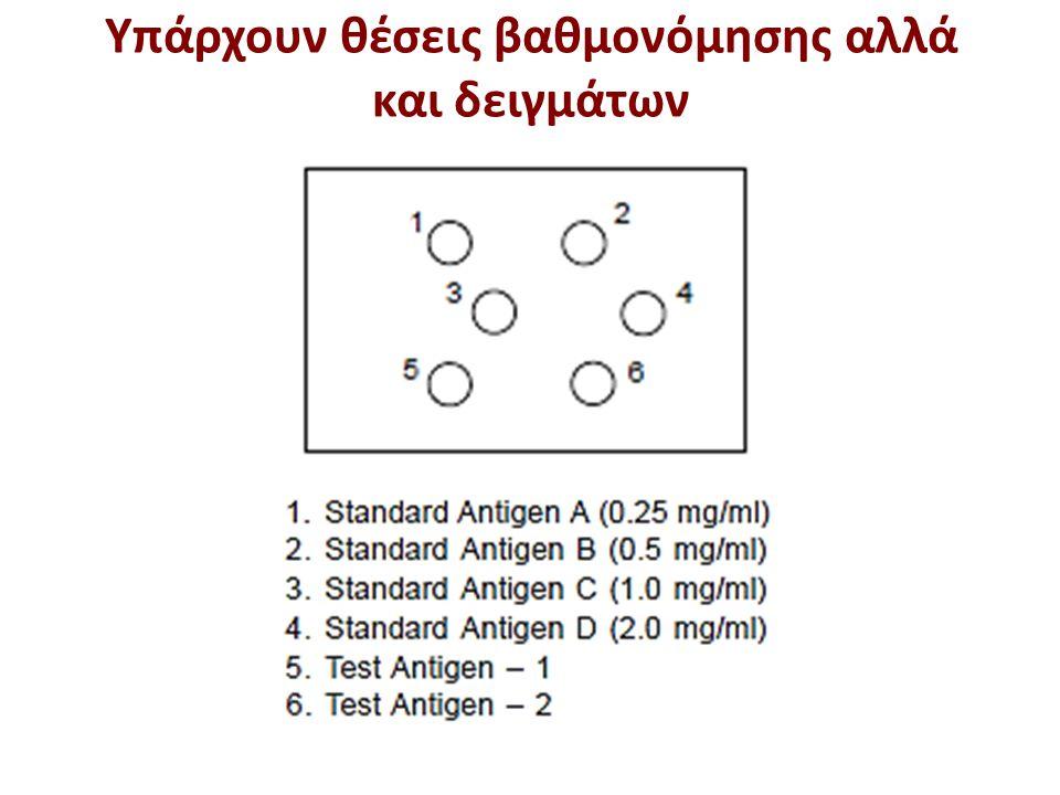 Μέτρηση των δίσκων ακτινωτής ανοσοδιάχυσης