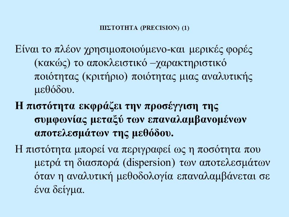 ΠΙΣΤΟΤΗΤΑ (PRECISION) (1)
