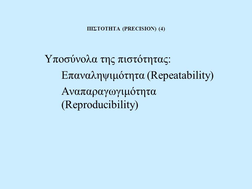 ΠΙΣΤΟΤΗΤΑ (PRECISION) (4)