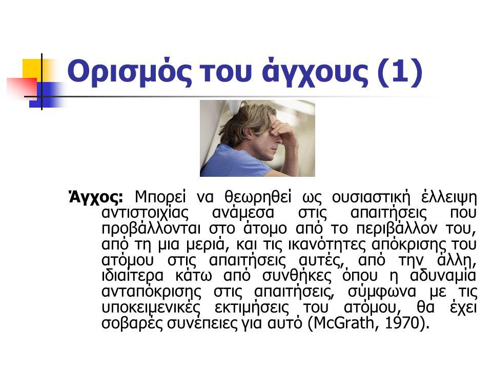 Ορισμός του άγχους (1)