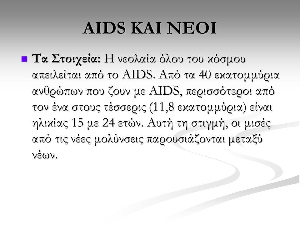AIDS KΑΙ ΝΕΟΙ