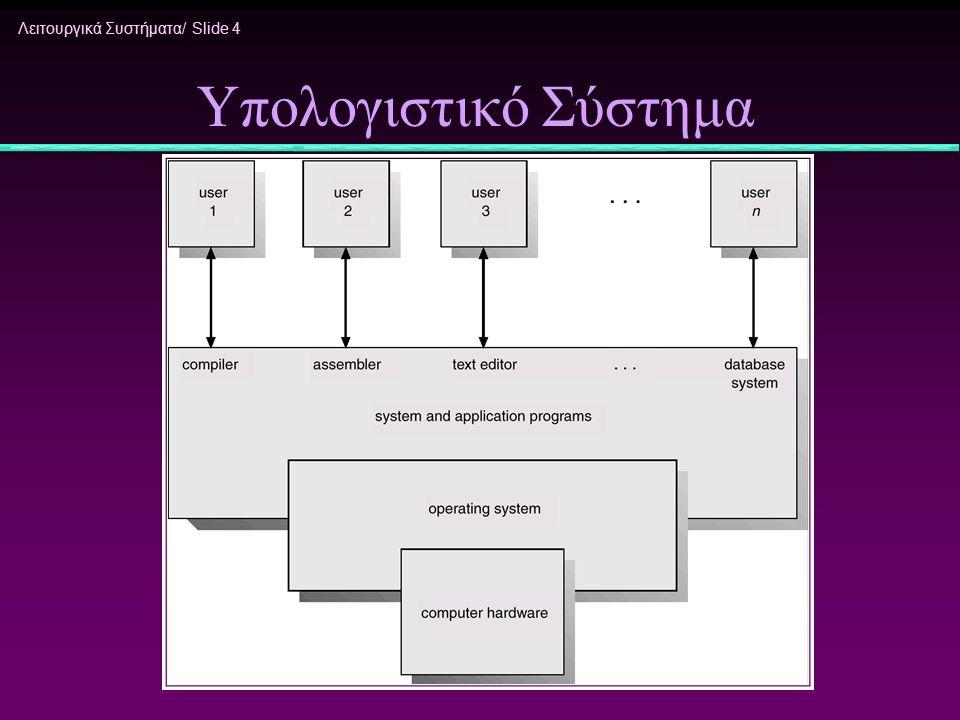 Υπολογιστικό Σύστημα