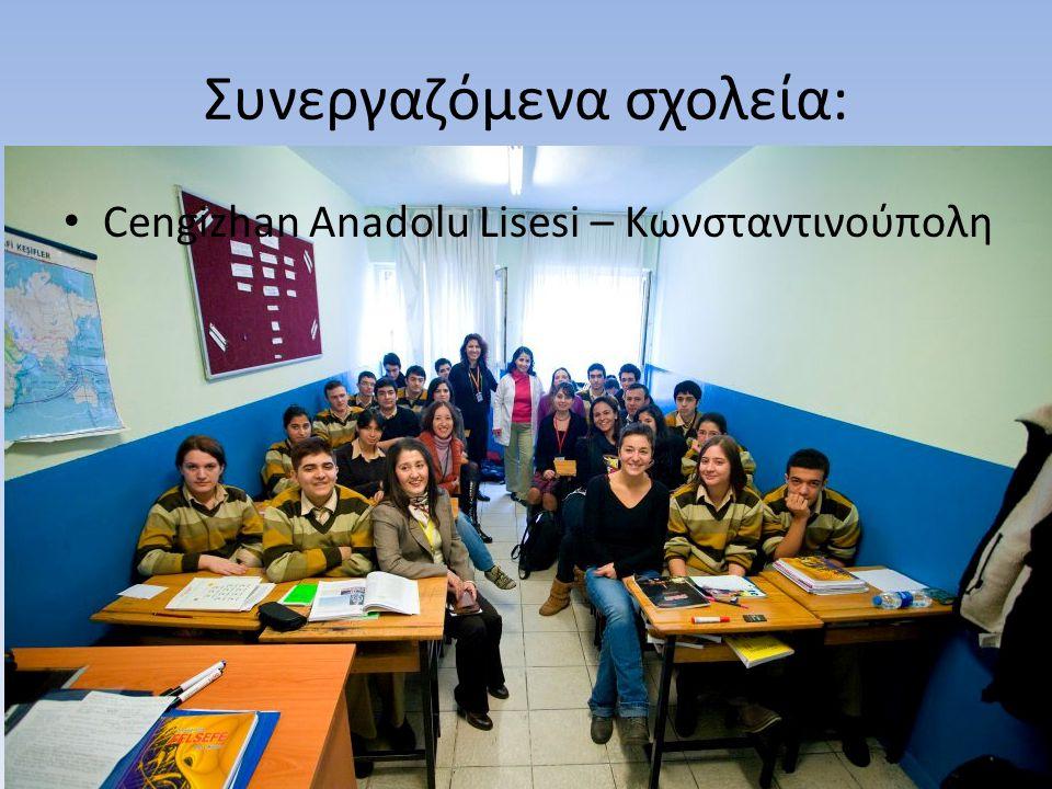 Συνεργαζόμενα σχολεία: