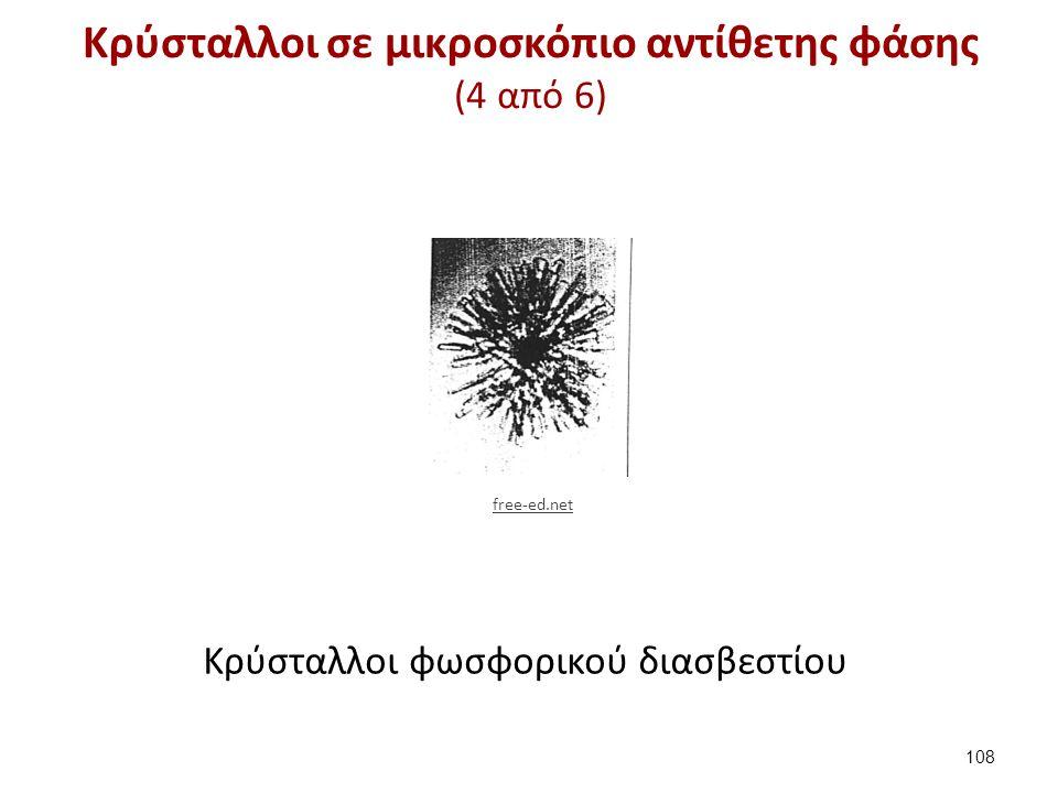 Κρύσταλλοι σε μικροσκόπιο αντίθετης φάσης (5 από 6)