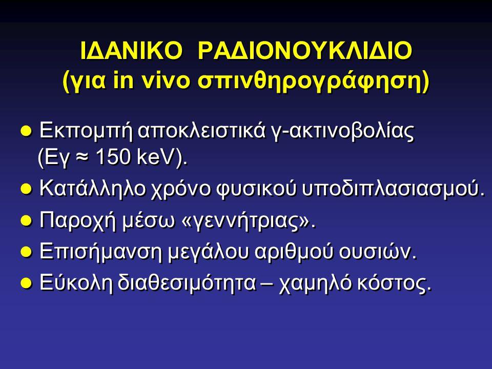 ΙΔΑΝΙΚΟ ΡΑΔΙΟNOYKΛΙΔΙΟ (για in vivo σπινθηρογράφηση)