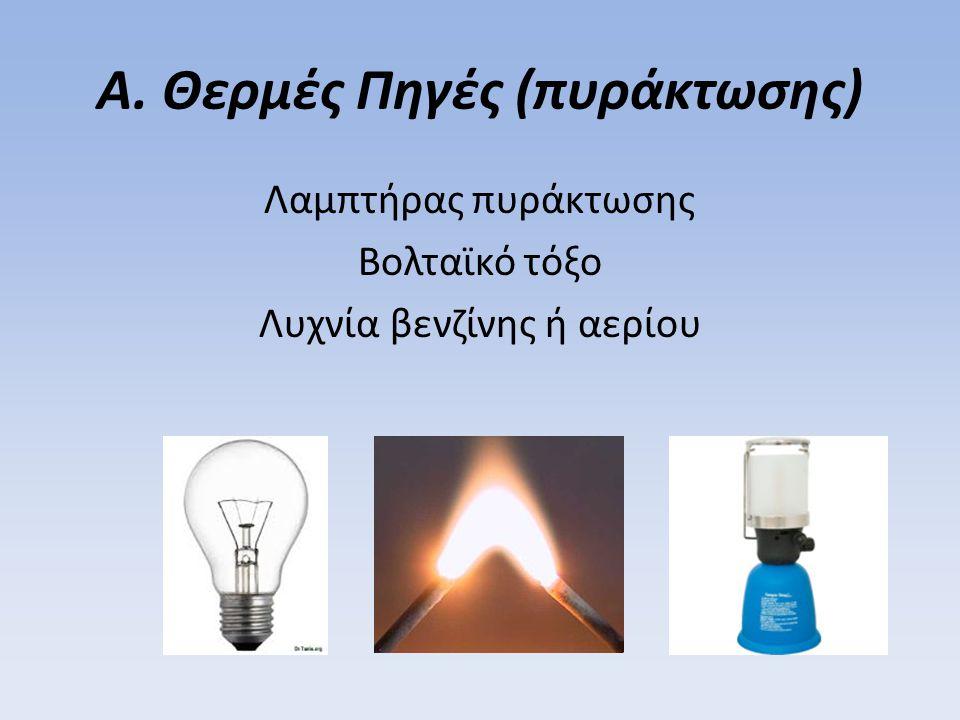 Α. Θερμές Πηγές (πυράκτωσης)