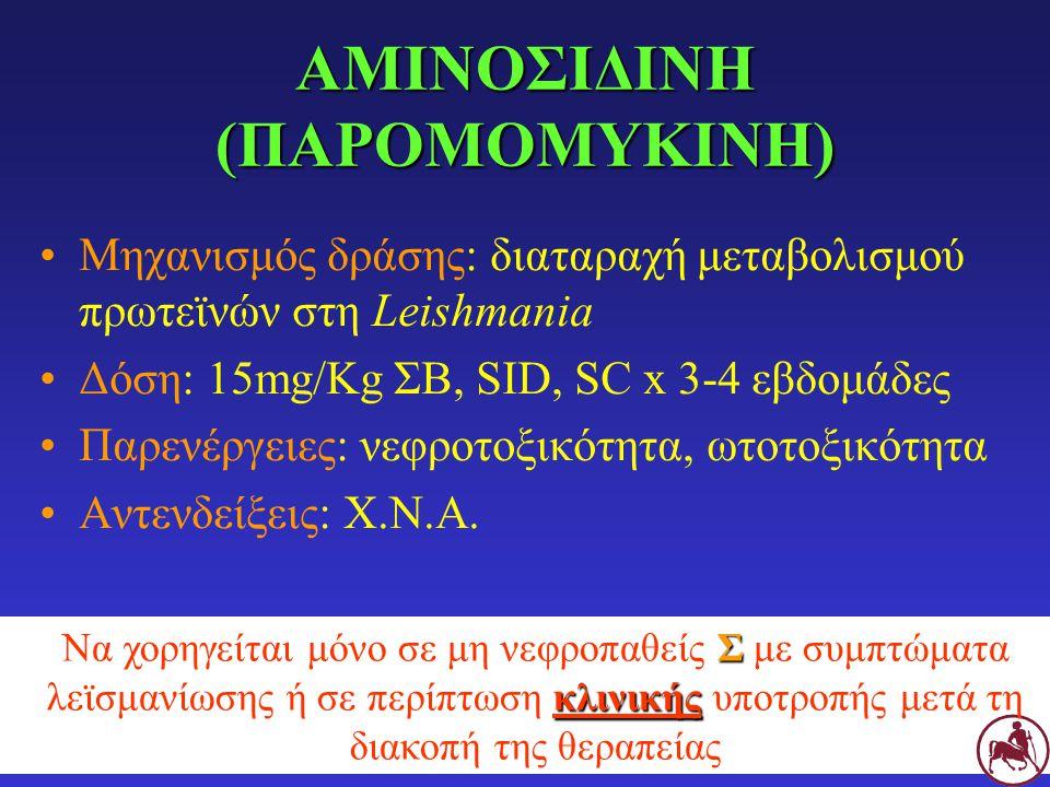 ΑΜΙΝΟΣΙΔΙΝΗ (ΠΑΡΟΜΟΜΥΚΙΝΗ)