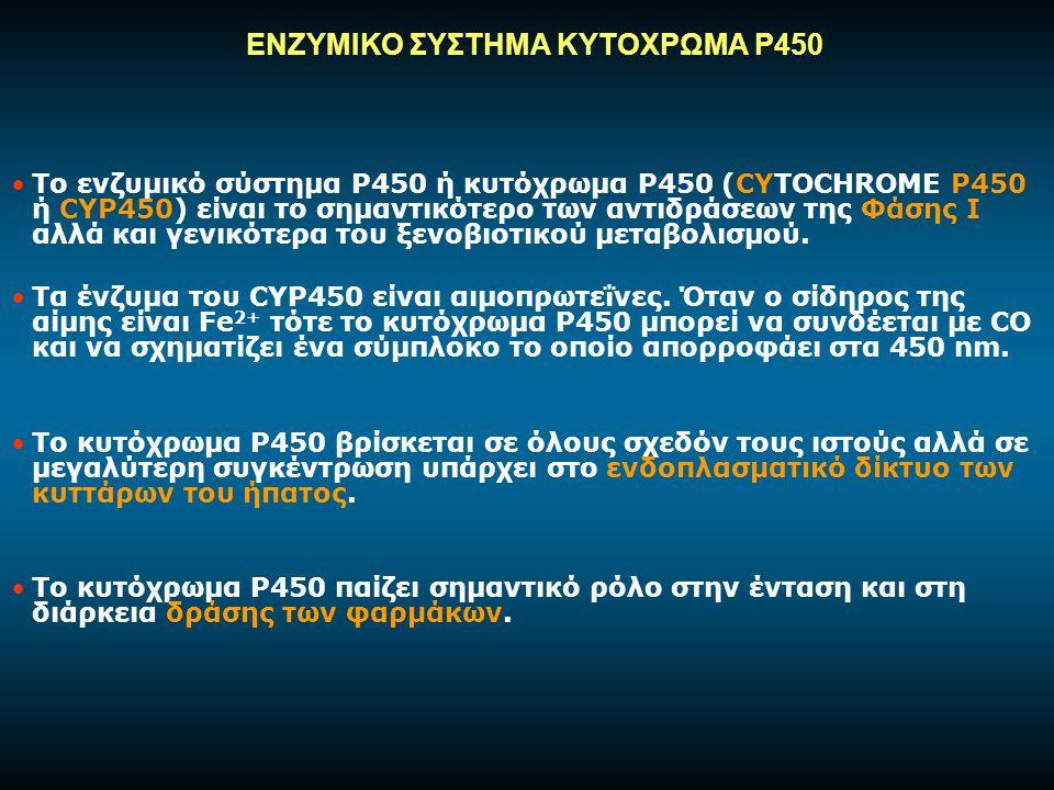 ΕΝΖΥΜΙΚΟ ΣΥΣΤΗΜΑ ΚΥΤΟΧΡΩΜΑ Ρ450