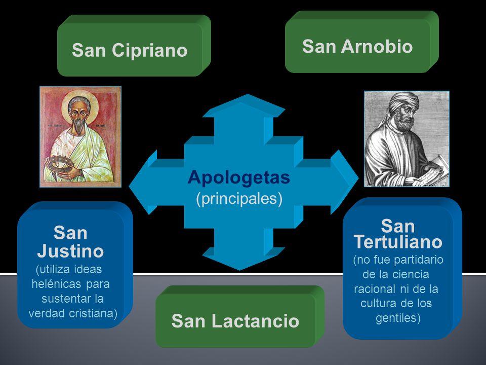 San Arnobio San Cipriano Apologetas San San Tertuliano Justino
