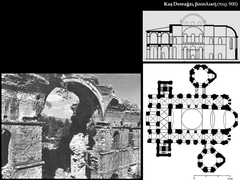 Kaş Dereağzı, βασιλική (περ. 900)