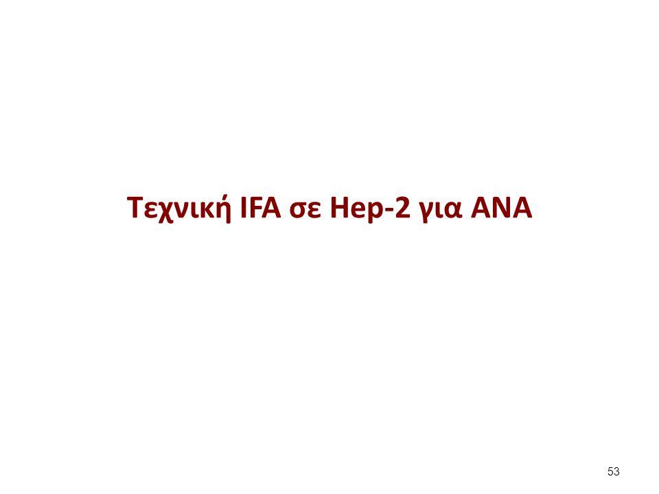 Δημιουργία παρασκευάσματος ανοσοφθορισμού Hep-2 (1 από 13)