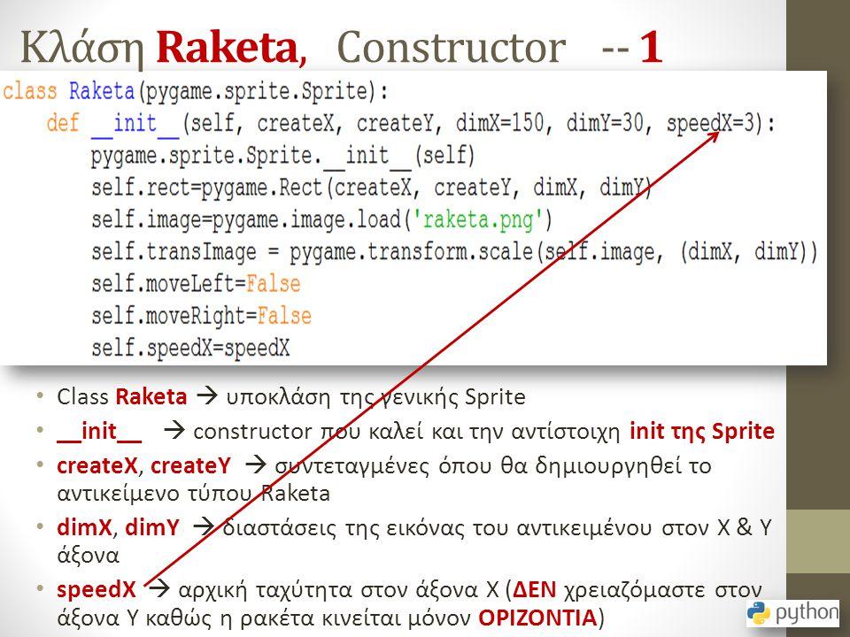 Κλάση Raketa, Constructor -- 1