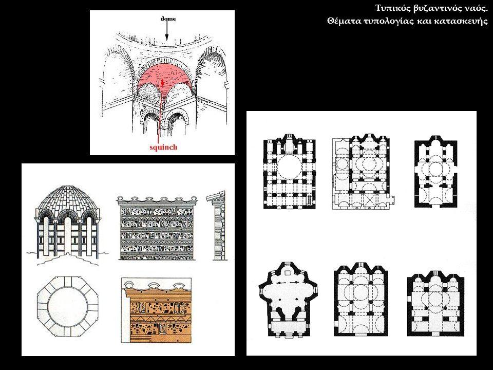 Τυπικός βυζαντινός ναός.