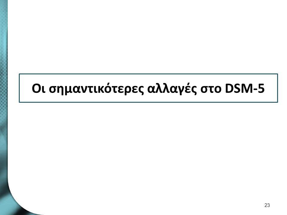 Εισαγωγικά για το DSM-5