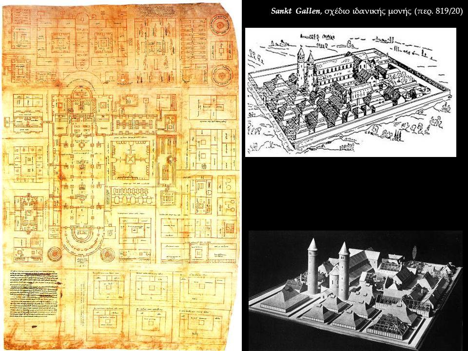 Sankt Gallen, σχέδιο ιδανικής μονής (περ. 819/20)