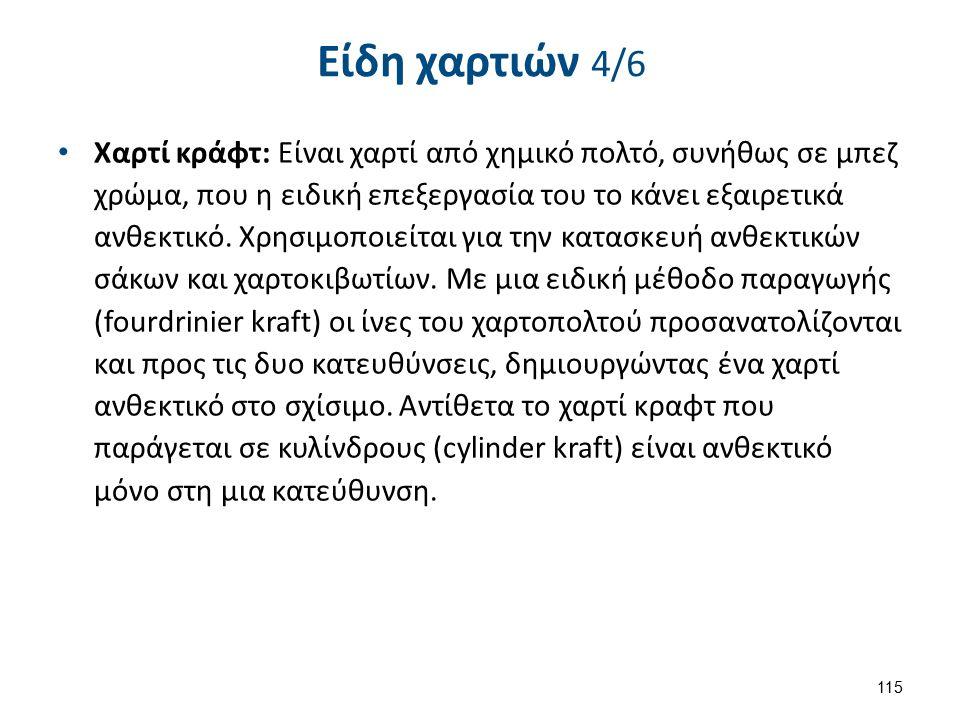 Είδη χαρτιών 5/6