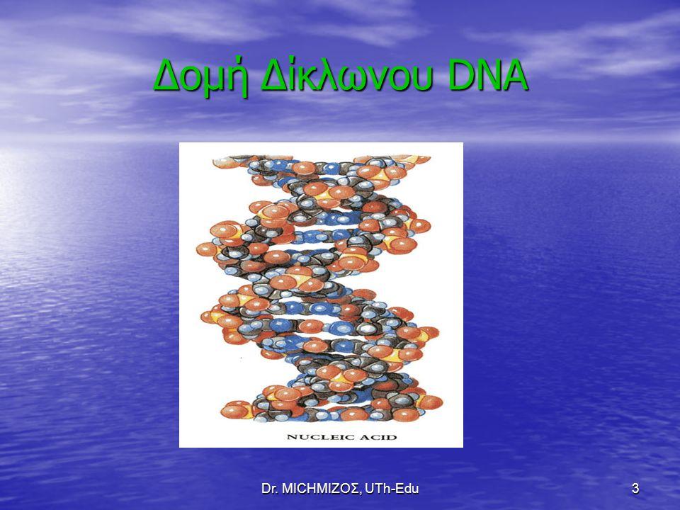 Δομή Δίκλωνου DNA Dr. ΜΙCHΜΙΖΟΣ, UTh-Edu