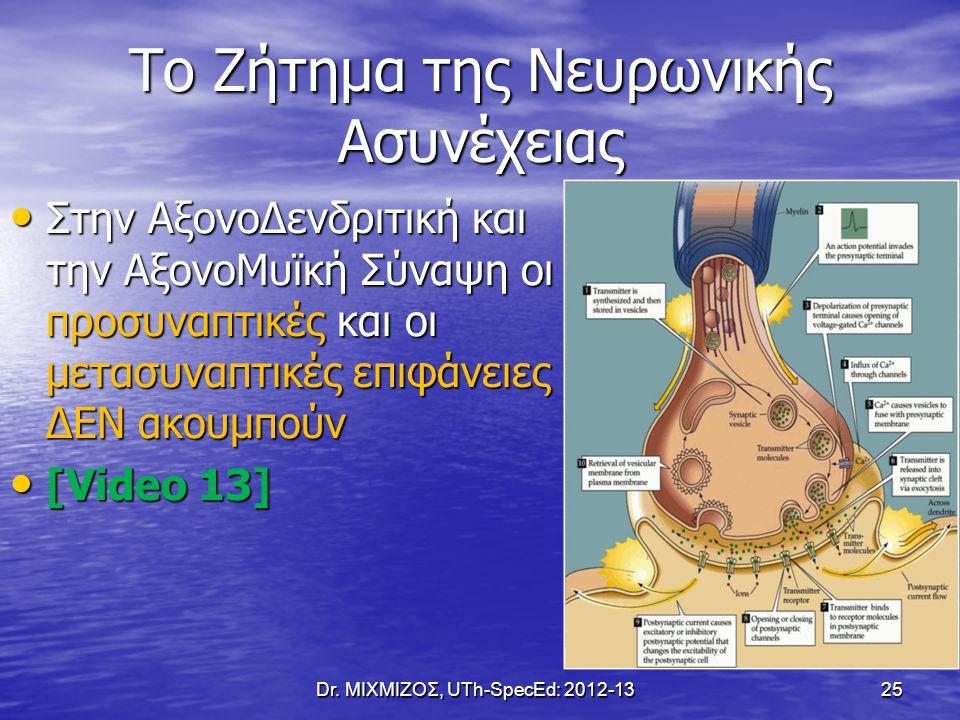 Το Ζήτημα της Νευρωνικής Ασυνέχειας