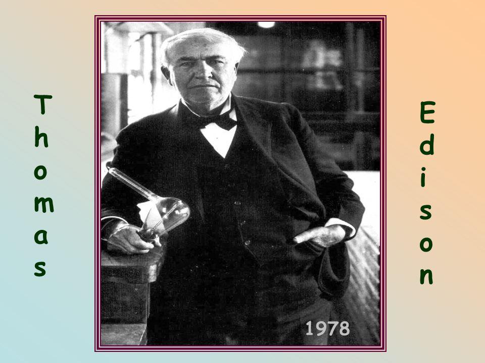 Thomas Edison 1978