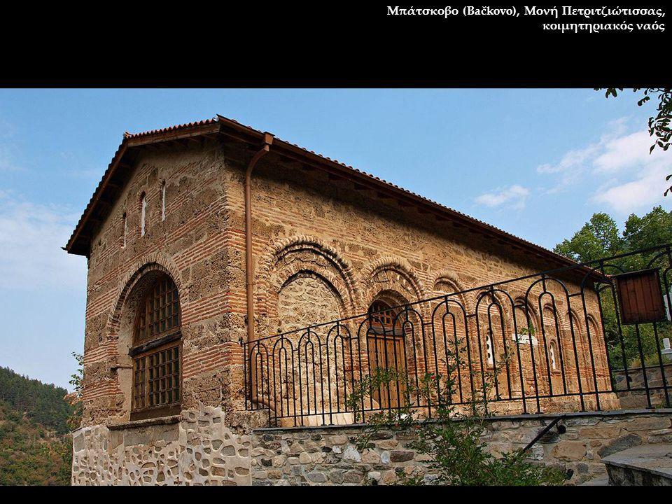 Μπάτσκοβο (Bačkovo), Μονή Πετριτζιώτισσας, κοιμητηριακός ναός