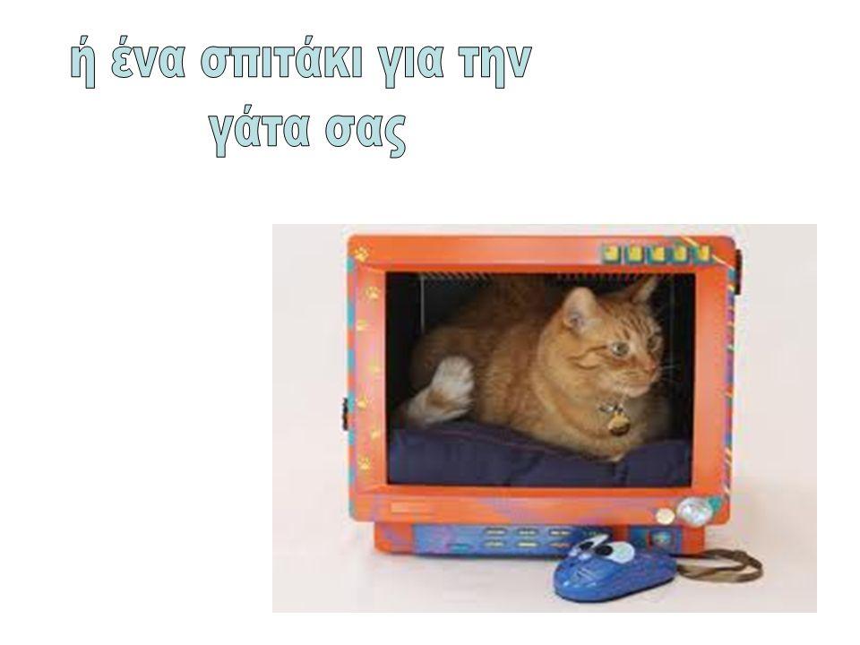 ή ένα σπιτάκι για την γάτα σας