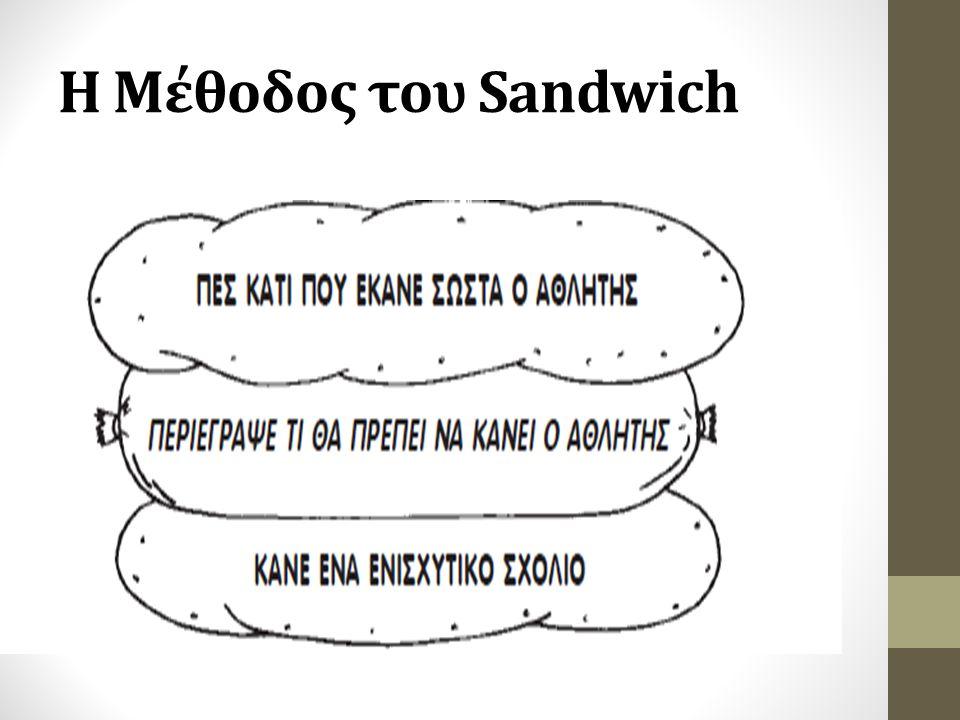 Η Μέθοδος του Sandwich