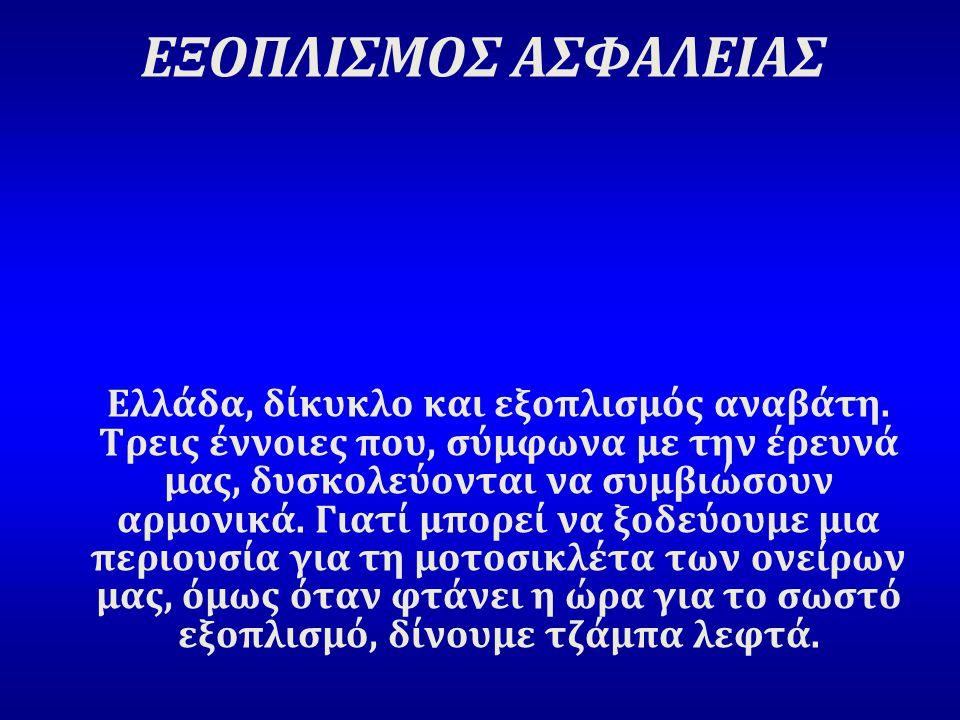 ΕΞΟΠΛΙΣΜΟΣ ΑΣΦΑΛΕΙΑΣ