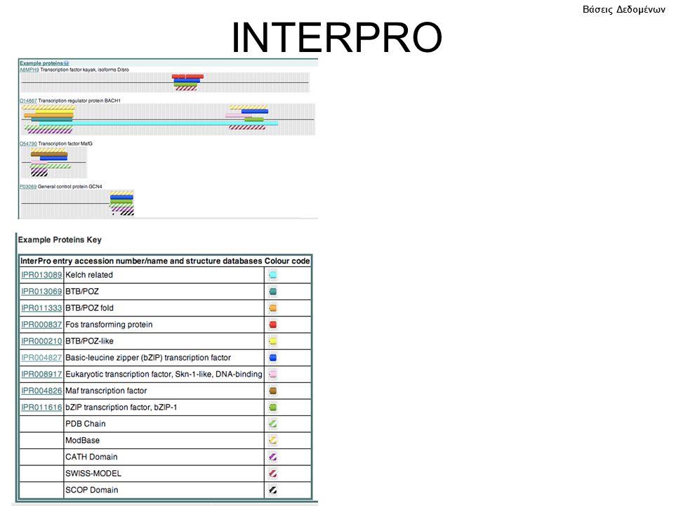 Βάσεις Δεδομένων INTERPRO