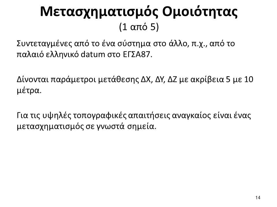 Μετασχηματισμός Ομοιότητας (2 από 5)