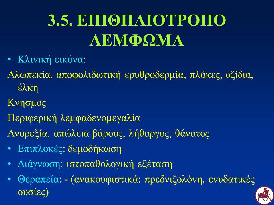 3.5. ΕΠΙΘΗΛΙΟΤΡΟΠΟ ΛΕΜΦΩΜΑ