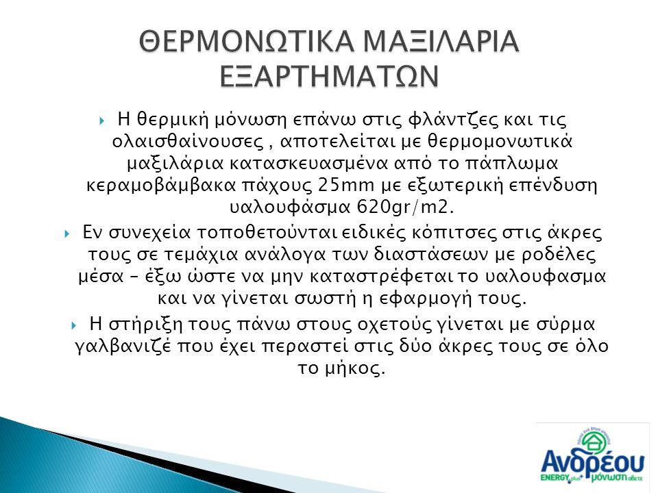 ΘΕΡΜΟΝΩΤΙΚΑ ΜΑΞΙΛΑΡΙΑ ΕΞΑΡΤΗΜΑΤΩΝ