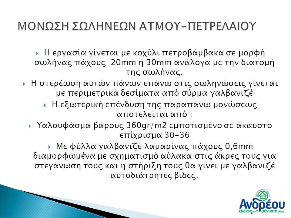 ΜΟΝΩΣΗ ΣΩΛΗΝΕΩΝ ΑΤΜΟΥ-ΠΕΤΡΕΛΑΙΟΥ