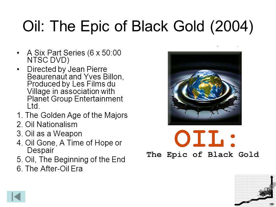 Oil: The Epic of Black Gold (2004)