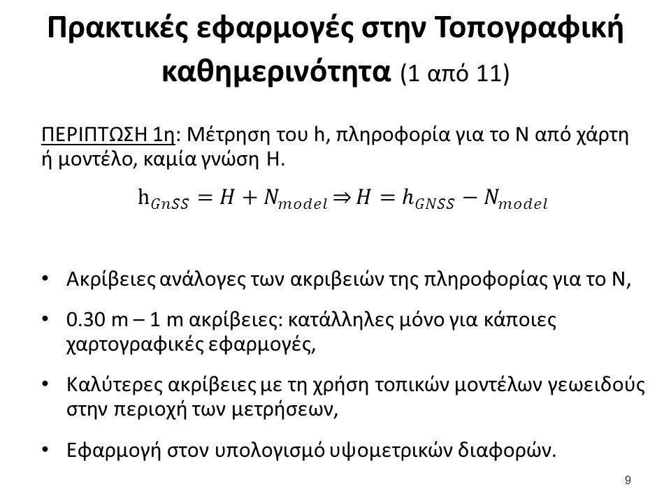 Πρακτικές εφαρμογές στην Τοπογραφική καθημερινότητα (2 από 11)
