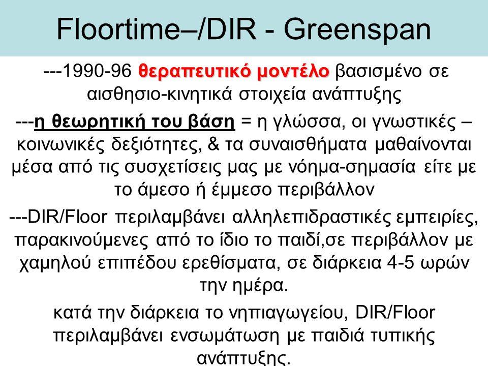 Floortime–/DIR - Greenspan