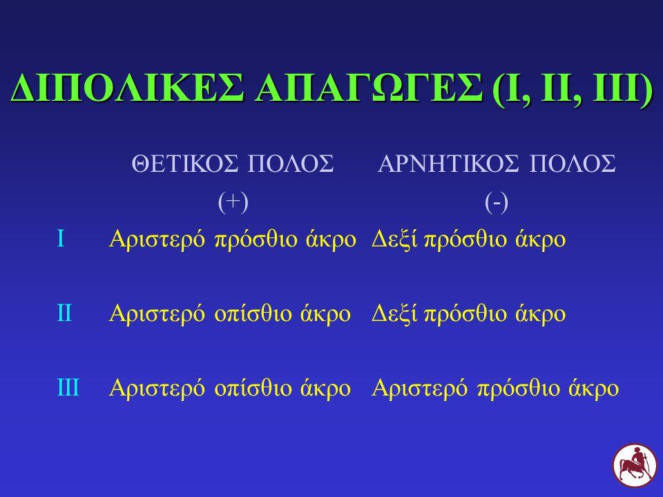ΔΙΠΟΛΙΚΕΣ ΑΠΑΓΩΓΕΣ (Ι, ΙΙ, ΙΙΙ)