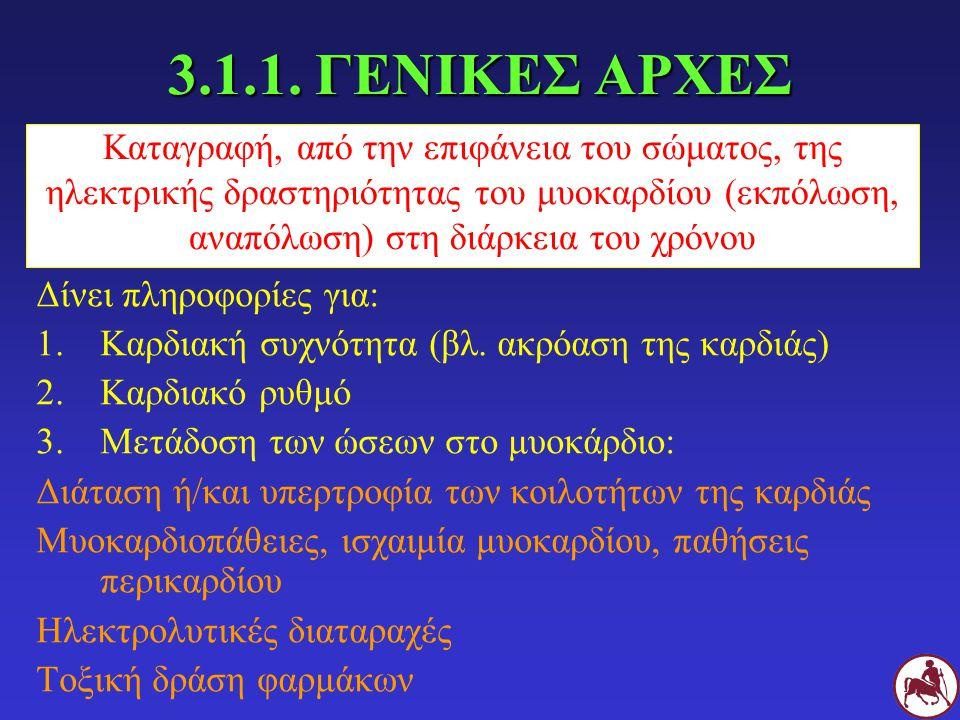 3.1.1. ΓΕΝΙΚΕΣ ΑΡΧΕΣ