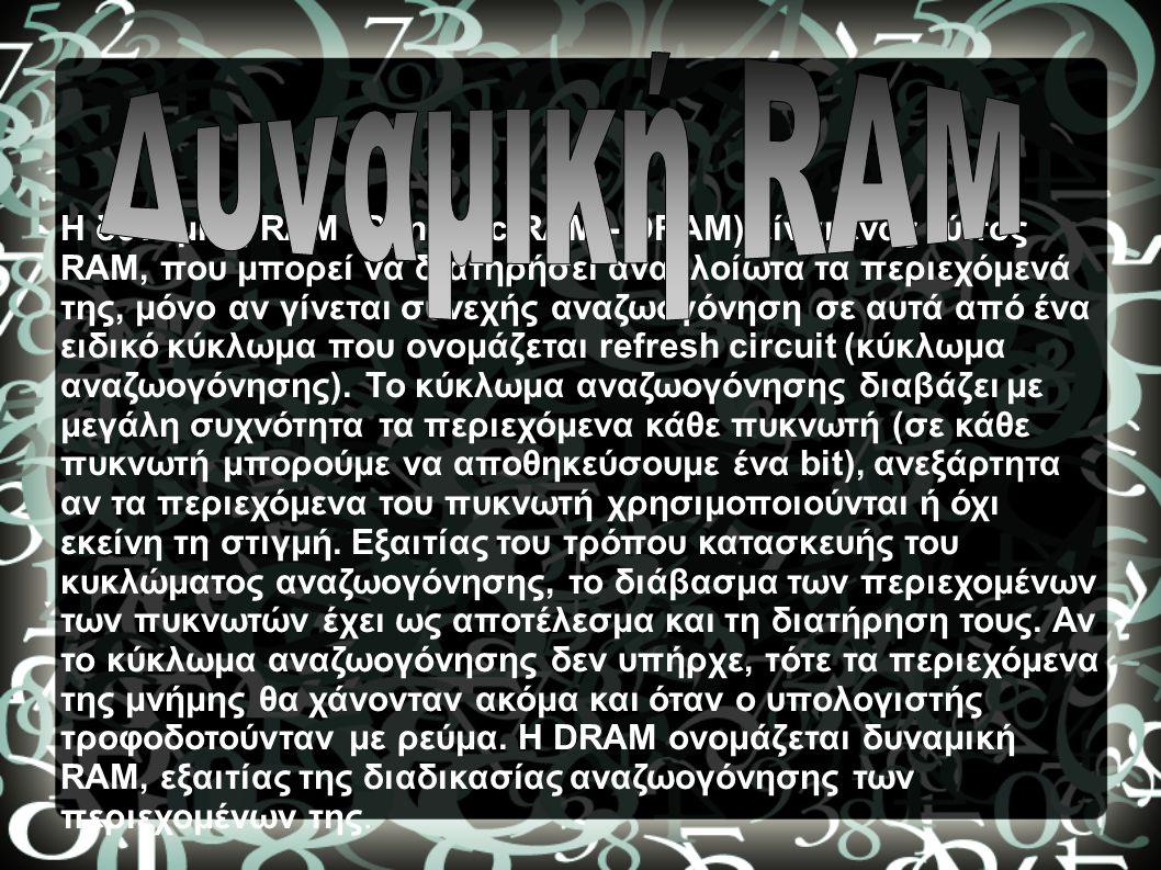 Δυναμική RAM